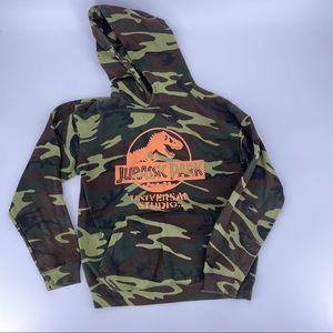 Universal Studios JURASSIC PARK Camouflage Hoodie